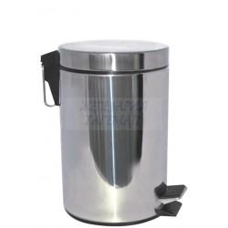 Кош инокс с педал 5 литра