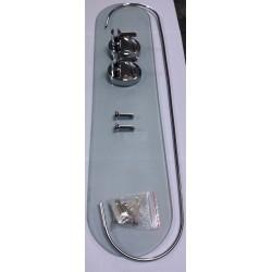 Стъклена етажерка за баня -...