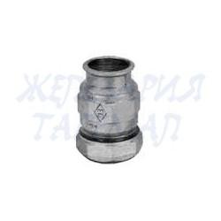 Стъклена дамаджана 5 литра с тапа с метален механизъм