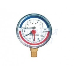 Термоманометър – радиален