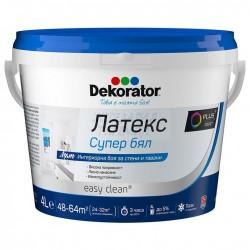 Латекс Декоратор супер бял