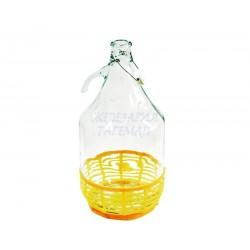 Стъклена дамаджана 5 литра...