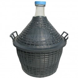 Стъклена дамаджана 10 литра
