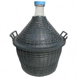 Стъклена дамаджана 25 литра