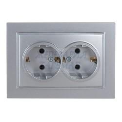 Двоен електрически контакт...